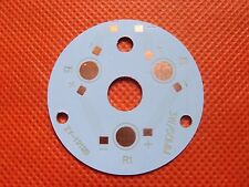 50mm Circle Aluminum PCB Circuit Board for 3PCS x 1W,3W LED IN Series