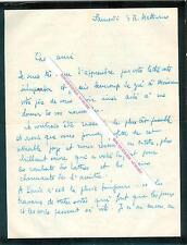 3 Lettres autographes signées de Pierre PARAF, Journaliste, homme de radio