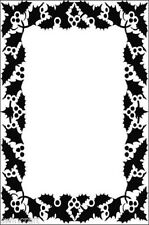 Crafts Too A6 Embossing Folder BERRY FRAME - CTFD4028