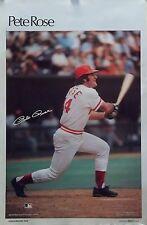 Pete Rose 23x35 Cincinnati Reds MLB SI Poster 1978