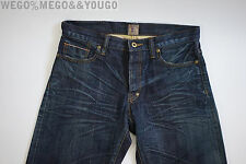 PRPS Goods & Co. Selvedge Stressed Faded Denim Jeans size 30 x 33 PRPS