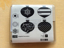 Stampin Up Delightful Decorations, Christmas