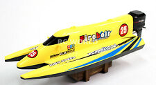 Radio Control RC High SPEED F1 Formula BOAT 2.4ghz  -YELLOW -
