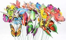 LeBeila Butterfly Stakes - 24 Garden Decor Butterflies Yard Decorations Lawn