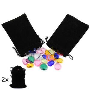 Allstarco Pirate Jewels in Valour Treasure Pouches 1 Inch Decor Plastic Gems for
