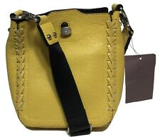 NWT Etienne Aigner Women's Leather Cross Body, Butterscotch Color MSRP: $298.00