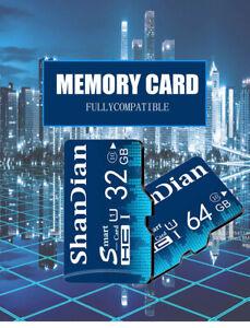 Smart SD card 8gb 16gb 32gb 64gb TF Card High Speed Mini Memory Card