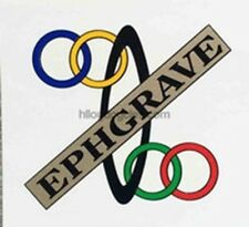 Ephgrave Seat Tube Decal
