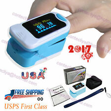 FingerTip Pulse Oximeter OLED Blood Oxygen SPO2 Pulse Heart rate monitor CMS50NA