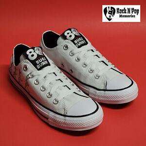 Converse x Bugs Bunny 80 Years CTAS Ox 169226F Grey/White/Black Multi Sizes NWB