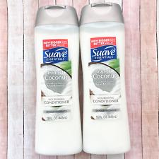 Suave Essentials Tropical Coconut Nourishing Conditioner Fragrance Lot of 2