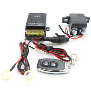 150A Car Battery Isolator Disconnect Relay Power Master Switch Remote Control