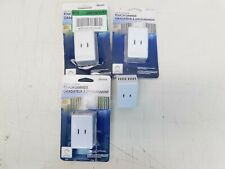 Lot of 4 Westek 6004B / Bc Plug-In Touch Dimmer, White 120 V 3-Levels
