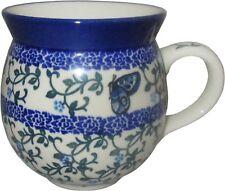 Boleslawiec Polish Pottery 12 Oz Coffee or Tea Bubble Mug Ceramika Artystyczna 1