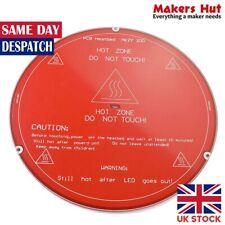 PCB Heatbed MK2Y 220mm 22cm ronda placa caliente Cama de calor para la impresora 3D