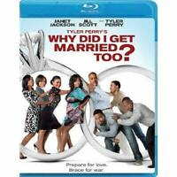 Why Did I Get Married Too? Blu-Ray On Blu-Ray With Michael Jai White Very Good