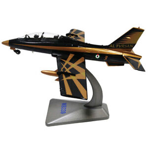 1/72 Alloy MB339 Training Plane Italian Fighter Jet Model with Display Stand