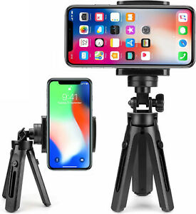 Universal Mini Mobile Phone Holder Tripod Stand Grip for iPhone & Samsung Camera