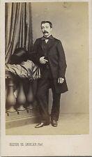 Hector de Sadeler Bruxelles Belgique België Belgium cdv Vintage albumine ca 1860