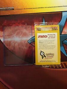 Entei Black Star Promo 34 Factory Sealed Pokemon Card