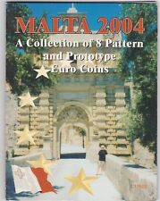 More details for 2004 malta trial eight coin euro set in a card pack in near mint condition.