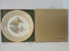 VINTAGE LENOX BOEHM BIRDS LIMITED EDITION COLLECTOR PLATE 1971 GOLDFINCH