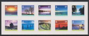 Guernsey - 2001, Island Colours / Views set - Self Adhesive - SG 901/10