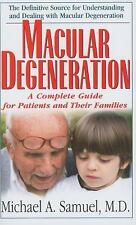 Macular Degeneration: A Complete Guide for Patients and Their Families-ExLibrary