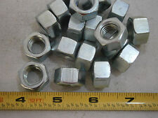 Hex Nuts 1/2-20 Finish Steel Zinc Plated Lot of 18 #3428