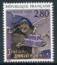 STAMP / TIMBRE FRANCE NEUF N° 2839 ** LE PLAISIR D'ECRIRE / JOYEUX ANNIVERSAIRE