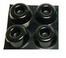 4x SOUNDBAR or Speaker Stand Isolation Gel Pads (BLACK)