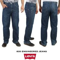 VINTAGE LEVIS 835 ENGINEERED JEANS-RARE TWISTED LEG RELAXED FIT
