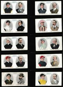 Ogden's - 'Owners Racing Colours & Jockeys' - (1914) - Complete Set