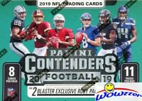 2019 Panini Contenders Football FANATICS HUGE DOUBLE Blaster Box-EXCLUSIVE RUBYS