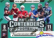 2019 Panini Contenders Football FANATICS HUGE DOUBLE Blaster Box-EXCLUSIVE RUBYS
