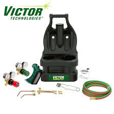 0384-0945 Victor Portable Tote Torch Kit for Brazing Soldering Without Bottles