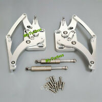 Set Rep Hood Gas Spring Strut Shock For Billet Hinge Kits 7 Inch 170lb Mustang Ebay