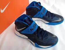 Nike Zoom Soldier VII Lebron James 610343-400 Blu Basketball Shoes Women's 6 new