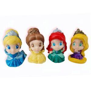 Disney Princess BIGinkies Set by Squinkies - Ariel Belle Cinderella Rapunzel Lot