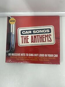 Various - Car Songs The Anthems 4CD 80 Massive Hits -BRAND NEW SEALED