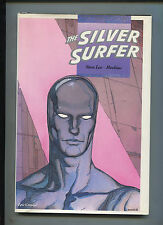 """THE SILVER SURFER """"PARABLE"""" HARDCOVER STAN LEE MOEBIUS 1988 1ST PRINT (9.2)"""
