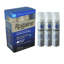 Rogaine/Regaine Men's Hair Loss Treatment  Minoxidil 5% Foam 3 Months Sealed Box