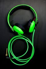 Custom Cans UV Green Sennheiser HD25 2016 Headphones with 2yr warranty
