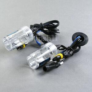 1Pair Car HID Xenon Headlight Lamp Light For H1 43K 4300K 55W Bulbs Replacement