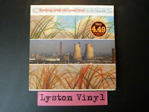 """China Crisis-Working With Fire And Steel~Possible Pop Songs Vol.2 12"""" Vinyl LP"""