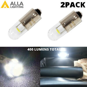 LED White Map Light Bulb Interior Overhead Lamps for Audi BMW Benz Kia Ford VW