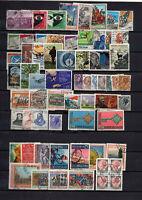64 timbres Italie de 1967 à 1968