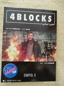 4 Blocks - Die komplette dritte Staffel (2 DVDs) (2019, DVD video)