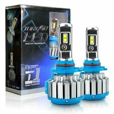 9005 HB3 H10 Car LED Bulbs Headlight Kit High Low Beam Light 70W 6000K Canbus
