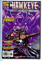 Hawkeye Earth's Mightiest Marksman 1 Marvel 1998 NM- Avengers Taskmaster